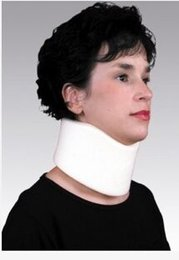 Wholesale Air Neck Brace - Health Care Self Sponge neck brace to be polymer foam plastic all round have transparent air hole, have plastic board to strengthen