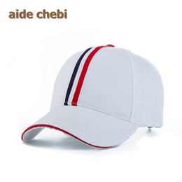 Wholesale Hat Custom Man - Wholesale- [aide chebi] Wholesale Snapback Hats Cap Baseball Cap solid Hats Hip Hop Fitted Cheap Polo Hats For Men Women Custom Casquette