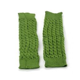Wholesale Warm Leggings For Girls - Wholesale- Leg Warmers for Girls Gaiters Knit Warm Crochet Leggings Boot Cuffs Knee High Trim Boot Legging Warmer #45