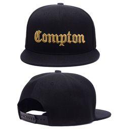 Canada 2017 SSUR Snapback Cap Compton Noir Blanc Chapeaux hip pop hommes femmes classique Pas Cher mode réglable snapbacks casquettes, Haute qualité rue chapeau supplier compton hats Offre