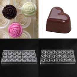 Wholesale Diamond Chocolate Mold - Special Offer Chocolate Mold Homemade Diamond Chocolate DIY Pastry Tools Polycarbonate Chocolate Moulds Plastic