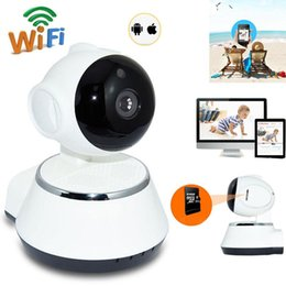 Wholesale High Quality Baby Monitor Wireless - High Quality HD Wireless Security IP Camera Wifi R-Cut Night Vision Audio Recording Surveillance Network Indoor Baby Monitor