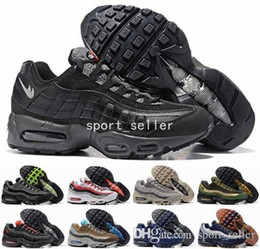 Wholesale Low Boots For Men - 2017 Max 95 Hyp Prm 20 Anniversary Running Shoes For Men,Top Quality Mens Athletic Boots Maxes 95s OG Trainers Sports Sneakers