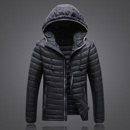 Wholesale Jackets Men Sale - Wholesale- 2016 Hot Sale Ultra-light Winter Warm Down Coat Slim Waterproof Down Jacket 90% White Duck Down jacket coat JK-1503