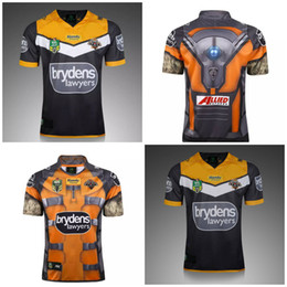 Wholesale Mens Stockings - 2018 West Tiger NEW Rugby Jerseys best quality mens rugby shirt in stock free shippingrugby jersey