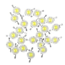 Wholesale Led Lights Parts - Wholesale- 100pcs LOT 3W Warm Natural Cool White 3500K 4500K 6500K 15000K LED Bead diodes lamp crystal bulb light lamp part