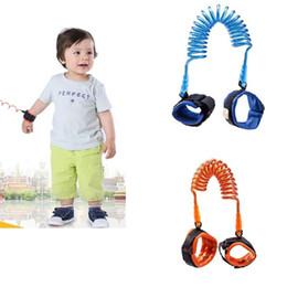 kinder seilseile Rabatt Baby-Sicherheit Anti-verlorene Bügel-Geschirr-Kleinkind-Leine Anti verlorene Handgelenk-Verbindung Kinderzugkraft-Seil-Armband-Kind-Sicherheitsseil IA557