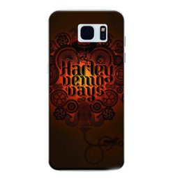 Wholesale Cellphone Gel Cases - Fashion Harley Demo Days TPU IMD Soft Gel Rubber Soft Back Phone Cover For Samsung Galaxy S7 S7 Edge Plastic Cellphone Case