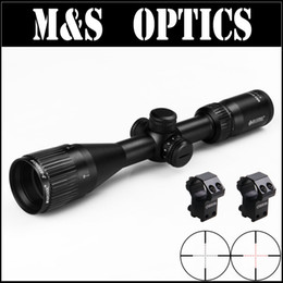Wholesale Rifle Scopes Sale - Hot sale ALT 3-9X40 AOIR Red Illuminated Under 5.56 Bullet Guns Air Tactical Rifle Optical Hunting Scopes With Riflescope Mounts