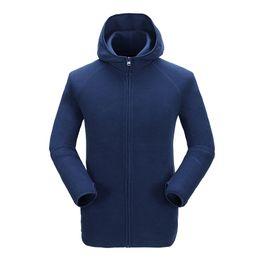 Wholesale Stylish Sports Jackets - Wholesale- GRAIL Men Outdoor Sport Anti-Pilling Fleece Jacket Autumn Outwear Coat Stylish Parkas Windproof Breathable 5071A