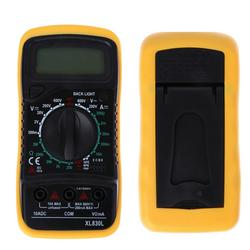 Wholesale Measurement Battery - XL830L Handheld Counts With Temperature Measurement LCD Digital Multimeter Tester Backlight XL830L Without Battery