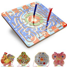 Wholesale Tracks Beads Toy - Manufacturers of wholesale wood balls a variety of magnetic beads puzzle maze puzzle ring track children 's wooden toys