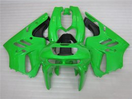 Wholesale Zx7r 1997 - 3 free gifts New Hot ABS motorcycle Fairing kits 100% Fit For Kawasaki Ninja ZX-9R 1994 - 1997 ZX-9R Green