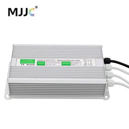 Wholesale Ip67 12v Power Supply Waterproof - 12V 24V LED Power Supply Unit Driver Electronic Transformer AC 110V 220V to 12 24 Volt 200W 250W 300W 360W Waterproof IP67