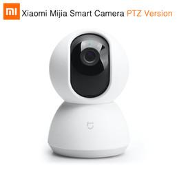 Wholesale Wireless Webcam Ip Camera - 2017 New Original Xiaomi Mijia Smart Camera 720P Full HD Night Vision Smart Webcam IP Camera Wifi Wireless Mi Home App Remote Control