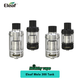 Wholesale Es Top - Original Eleaf MELO 300 Sub Ohm Tank Capacity 3.5ml & 6.5ml Convenient Retractable Top Fill System Atomizer with ES Sextuple-0.17ohm Head