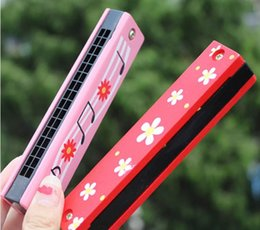 Wholesale Harmonica 16 - Baby Kids Toys Educational Swan Harmonica 16 Holes Musical Instruments Accessories Toy for kids