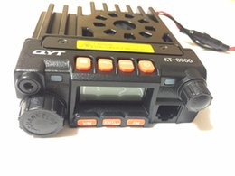 Wholesale Mini Dual Band Radio - Wholesale- QYT KT-8900 KT8900 25W 136-174MHz 400-480Mhz mini dual band mobile radio, two way radio, vehicle mounted, walkie talkie QYT 8900