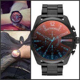 Wholesale Men S Sport Clock - Big Dial DZ 4318 Luxury Brand Watch For Man Military Clock Men s sports watch Male Fashion Dress Watches Man Casual Quartz Wristwatches