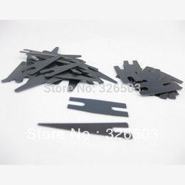 Wholesale Tattoo Machine Spring Set - Wholesale-10 Sets Black Tattoo Machine Gun Parts Shader Contact Spring Set Supply TSS11-10