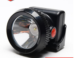 Wholesale Miner Lights - Cordless LED Mining Cap Light, Head Lamp (Free Shipping(Wireless 3W LED Mining Head Lamp Light LD-009 for Miners, Camping, Hunting)