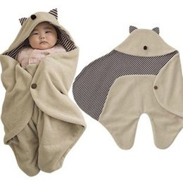 Wholesale AbaoDo vente chaude gremlins nouveau bébé couvertures coton polaire coton bébé sac de couchage top qualité nouveau né swadling