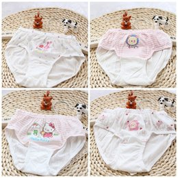 Wholesale Kids Under Pants - Baby Briefs Girls Boys Underpants Children Cartoon Cotton Short Pants Knickers Under Drawers Kids Clothing Wholesale XY303