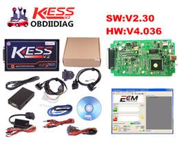 Wholesale Ecu Tune - Newest V2.30 KESS V2 Master OBD2 Manager Tuning Kit No Token Limit Kess V2 Master FW V4.036 Master Version