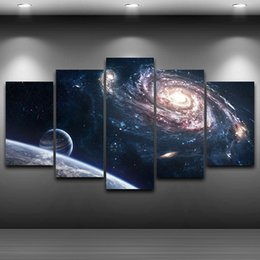 Wholesale Framed Space Art - Space Stars -1,5 Pieces Home Decor HD Printed Modern Art Painting on Canvas (Unframed Framed)