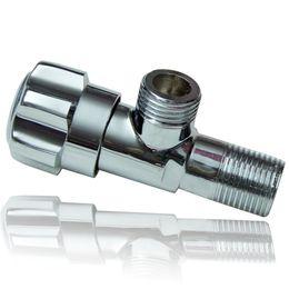 Wholesale Medium Angle - Brass Angle Valve Shut valve for Toilet Kitchen Basin Faucet Water Heater Water Inlet Control Valve Bathroom Hardware
