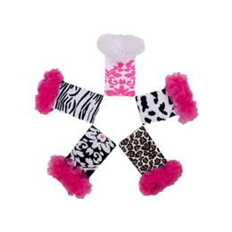 Wholesale Cow Leg - Autumn Animal Printed Kids Legging Newborn Gift Fashion Knit Newborn Photo Prop Cow and Cheetah Printed Arm Warm for Kids