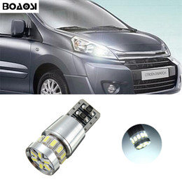 Wholesale C3 Picasso - BOAOSI T10 3014SMD LED Parking Lights Sidelight No Error For Citroen C4 C5 C3 Grand Picasso Berlingo Xsara Saxo C1 C2 ds3