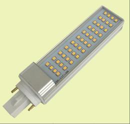 Wholesale E27 13w Energy Saving - free shipping Hot 100pcs lot 13W E27 G24 G23 LED Horizontal Plug lamp SMD2835 leds green energy saving PL light AC85-265V