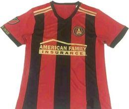 Wholesale Atlanta Wholesalers - DHL Wholesale - Top Thai quality 17 18 Atlanta United red home soccer jersey 2017 GARZA JONES VILLALBA MCCANN MARTINEZ ALMIRON away white