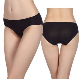Wholesale Young Girl Fashion Sexy - 2017 New Summer Young girl Slim Black High Waist Front Closure Fashion Sexy Briefs Soft Hip Hugger Underwears