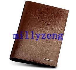 Sac à main en cuir multifonction en cuir imperméable à l'eau du sac de passeport dossier de documents documents dossier clip titulaire de la carte ? partir de fabricateur