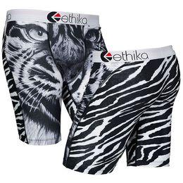 Wholesale Boxer Printing - Ethika Men's Underwear Boxer Polyester spandex tiger print