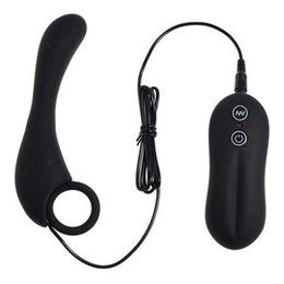 Wholesale Women Sex G Point - Waterproof Anal vibrator multi beads anal butt plug G point vibrators sex toys for men women