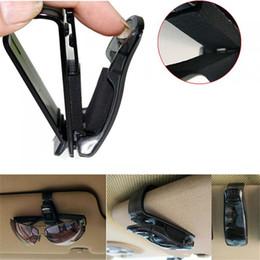Wholesale Sun Visor Eyeglass Holder - Wholesale-Brand New Car Auto Sun Visor Clip Holder For Reading Glasses Sunglasses Eyeglass Card Pen