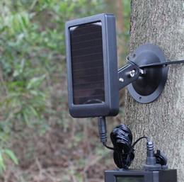 Wholesale Hunting Camera Solar Panel - 1500mAh Solar Panel Charger EU Plug Battery External Power for Hunting Cameras HC300M Wildlife Scouting Camera ann