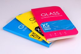 Pacote comum on-line-Papel Universal Embalagem Caixa De Vidro Temperado Protetor de Tela para Telefone Comum Visão Clara Personalizado com Logotipo