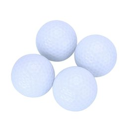 Wholesale Led Golf Balls - Wholesale- 2Pcs Night Tracker Flashing Light up Glow Golf Balls LED Electronic Golfing
