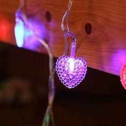 Wholesale Love String Light - Led love trailer shaped lamp string valentine's day wedding family courtyard curtain lantern light lantern string batch
