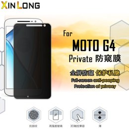 Wholesale Class Protector - Anti-glare glass For Motorala x play x2 G4 LG V10 Class Zero Privacy Tempered Glass Screen Protector with packing