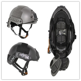 Wholesale Fast Op - tactical Ballistic Helmet OPS-CORE MH FAST BASE JUMP HELMET outdoor sports free shipping