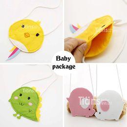 Wholesale Baby B Bag - Wholesale- New 2016 Girl Baby Toddler Buckle Handbag Kid Shoulder Bag Child Crossbody Bag Purse Gift Cute Cartoon Bird Pattern Handwork B