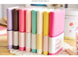 Wholesale Wholesale Mini Smiley Diary - Wholesale- 1 PCS Mini Colorful Notebook Portable Smiley Paper Diary Cute Charming Memo Note Book
