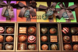 Wholesale Decorative Christmas Gift Boxes - 100% Handmade Chocolate Style Oil Soap Decorative Christmas Gift Box 6 pieces lot free shipping wa3800