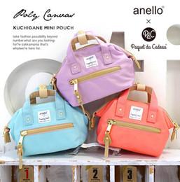 Wholesale Navy Hobo Bag - Japan ANELLO New Design Mini Shoulder Crossbody Bag Postman Handbag Campus School Pouch IPhone6 6s pocket bag