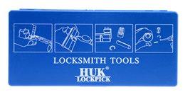 Wholesale Tools Remove Sold - Factory Sold Directly Professional 12 in 1 HUK Lock Disassembing Tool Locksmith Tools Kit Remove Lock Repairing Lock Pick Set